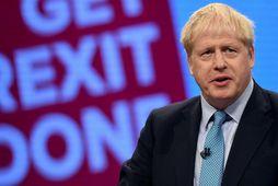 Boris Johnson, forsætisráðherra Bretlands, hyggst fagna upphafi nýrra tíma í ræðu sem hann mun flytja …