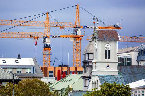 From downtown Reykjavík.