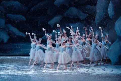 The New York City Ballet performing the Nutcracker