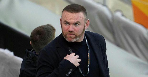 Wayne Rooney verður með liði Derby í B-deildinni á komandi keppnistímabili.