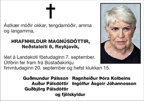 Hrafnhildur Magnúsdóttir,