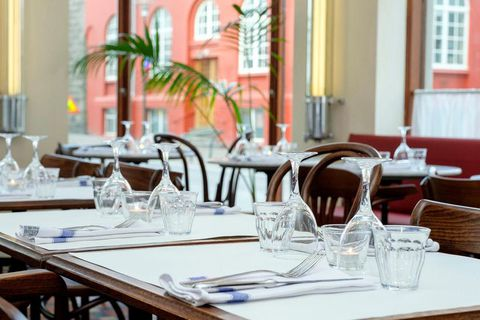 Café Paris has new owners who decided to return it to its original function- a French bistro and café.