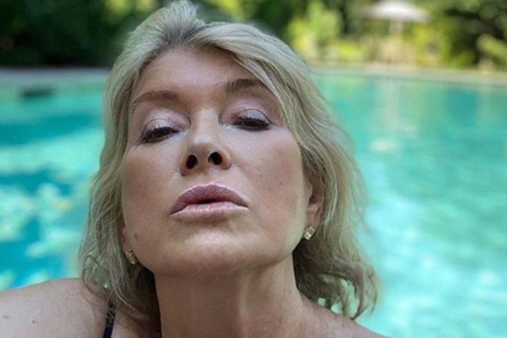 Martha Stewart er 78 ára og alltaf jafn hress.