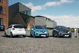 Nýjasta útgáfa Renault Zoe dregur allt að 390 km.
