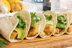 Hver slær hendinni á móti taco?