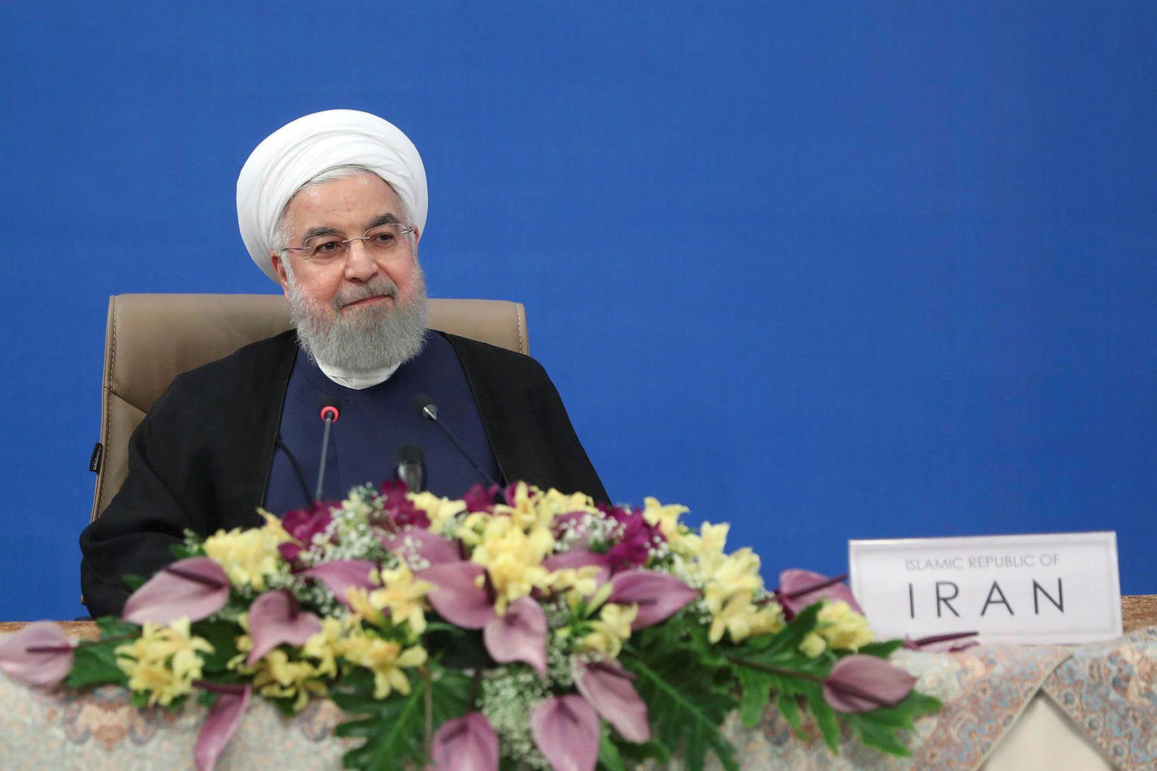 Forseti Íran, Hassan Rouhani.