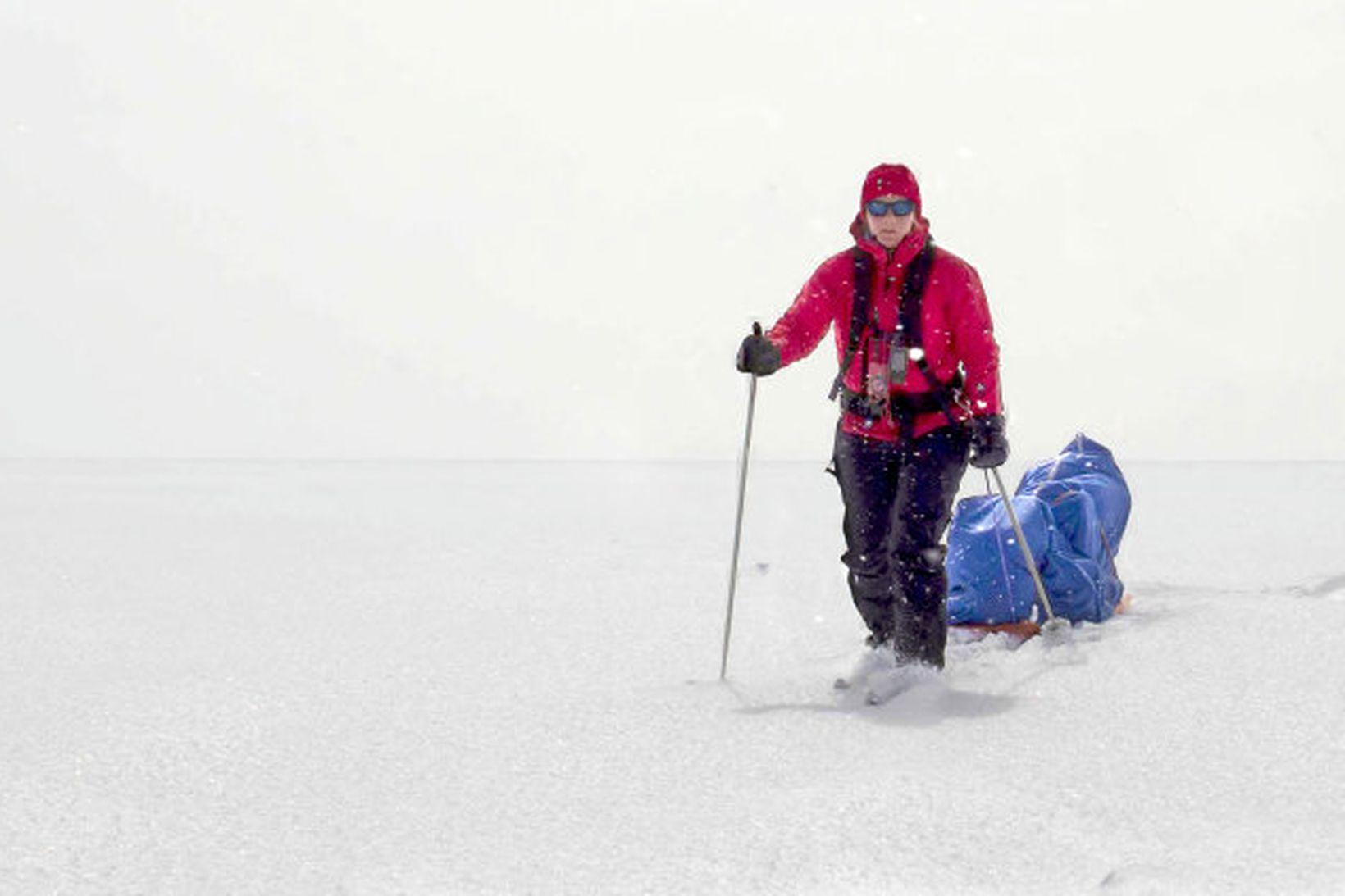 Vilborg Arna Gissurardóttir er búinn að vera á suðurskautinu í …