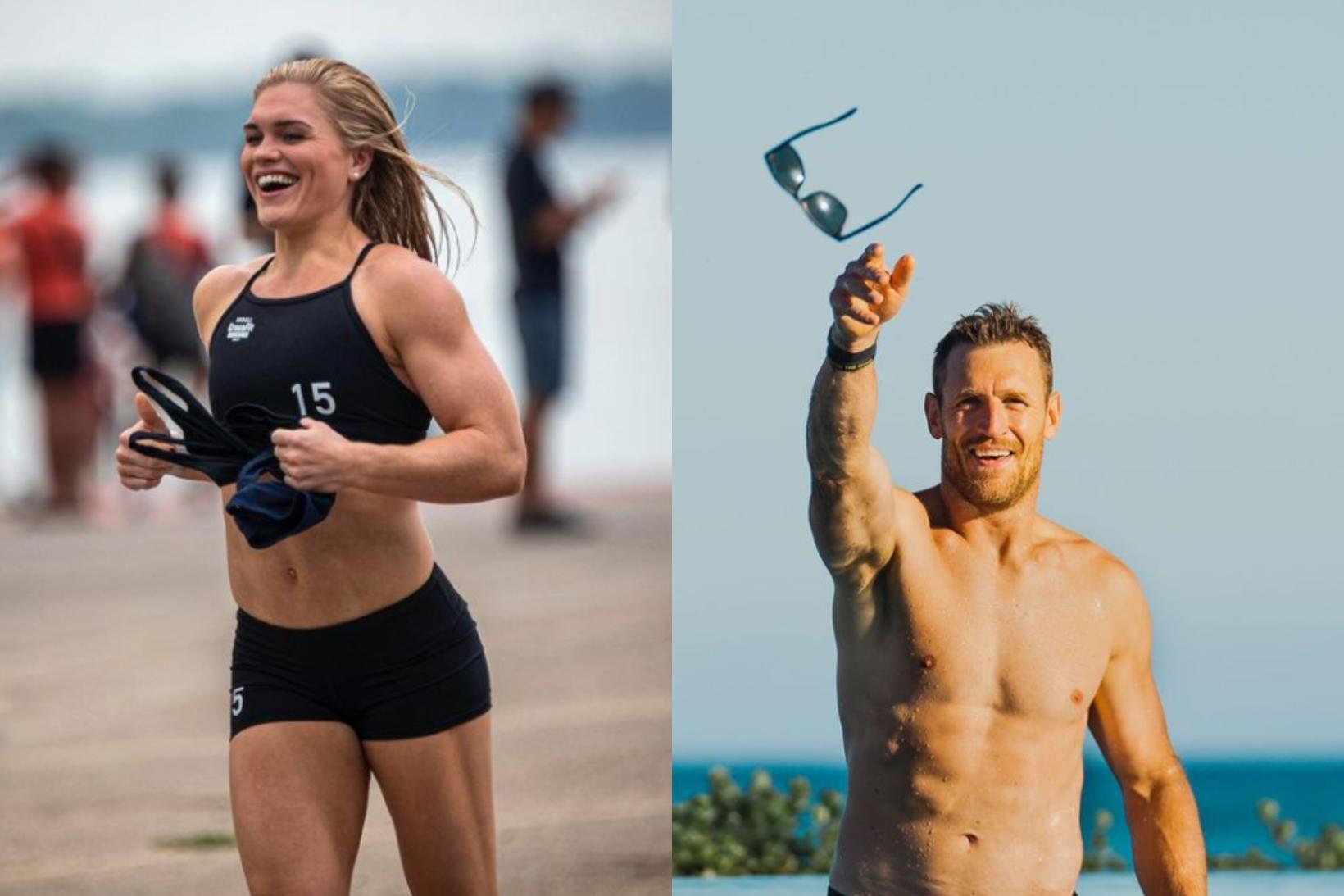 Katrín Tanja Davíðsdóttir og Brooks Laich eru nýtt par.