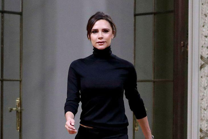 Victoria Beckham er á hækjum.