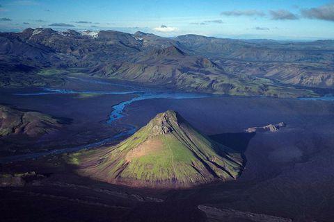 Mælifell. Hálendisvakt björgunarsveita þetta sumarið er hafin.