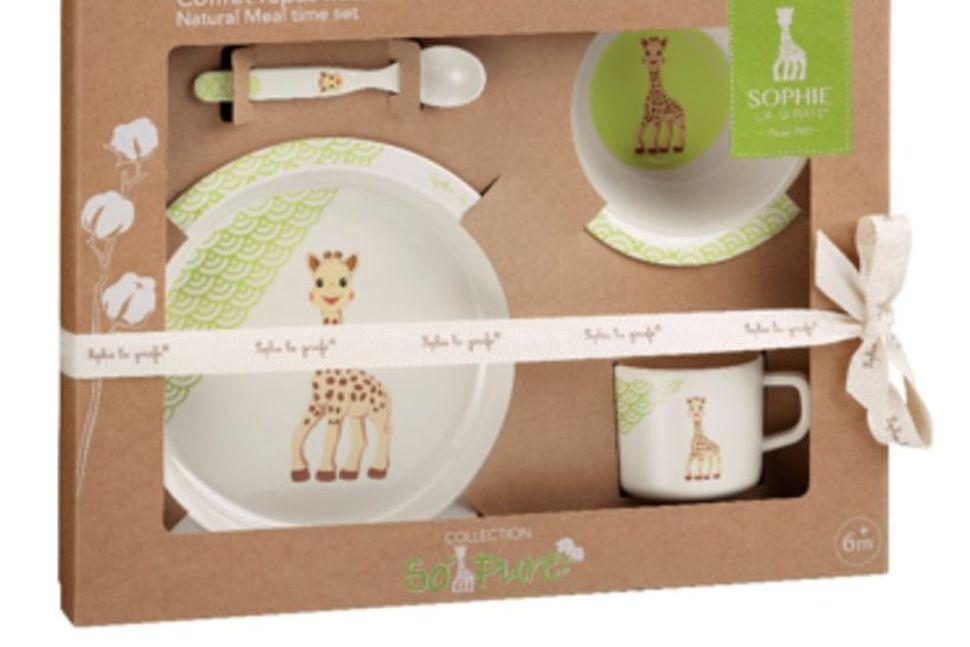Diskasettið frá Sophie la girafe.