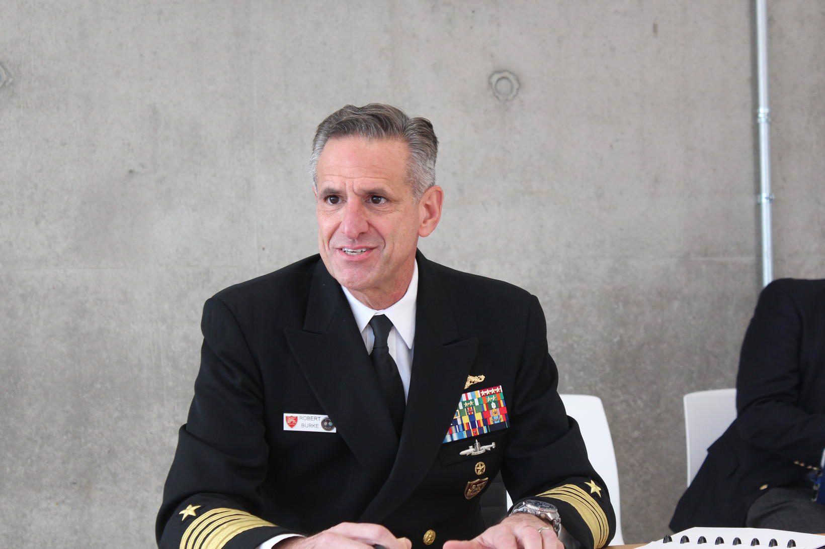 Robert Burke flotaforingi