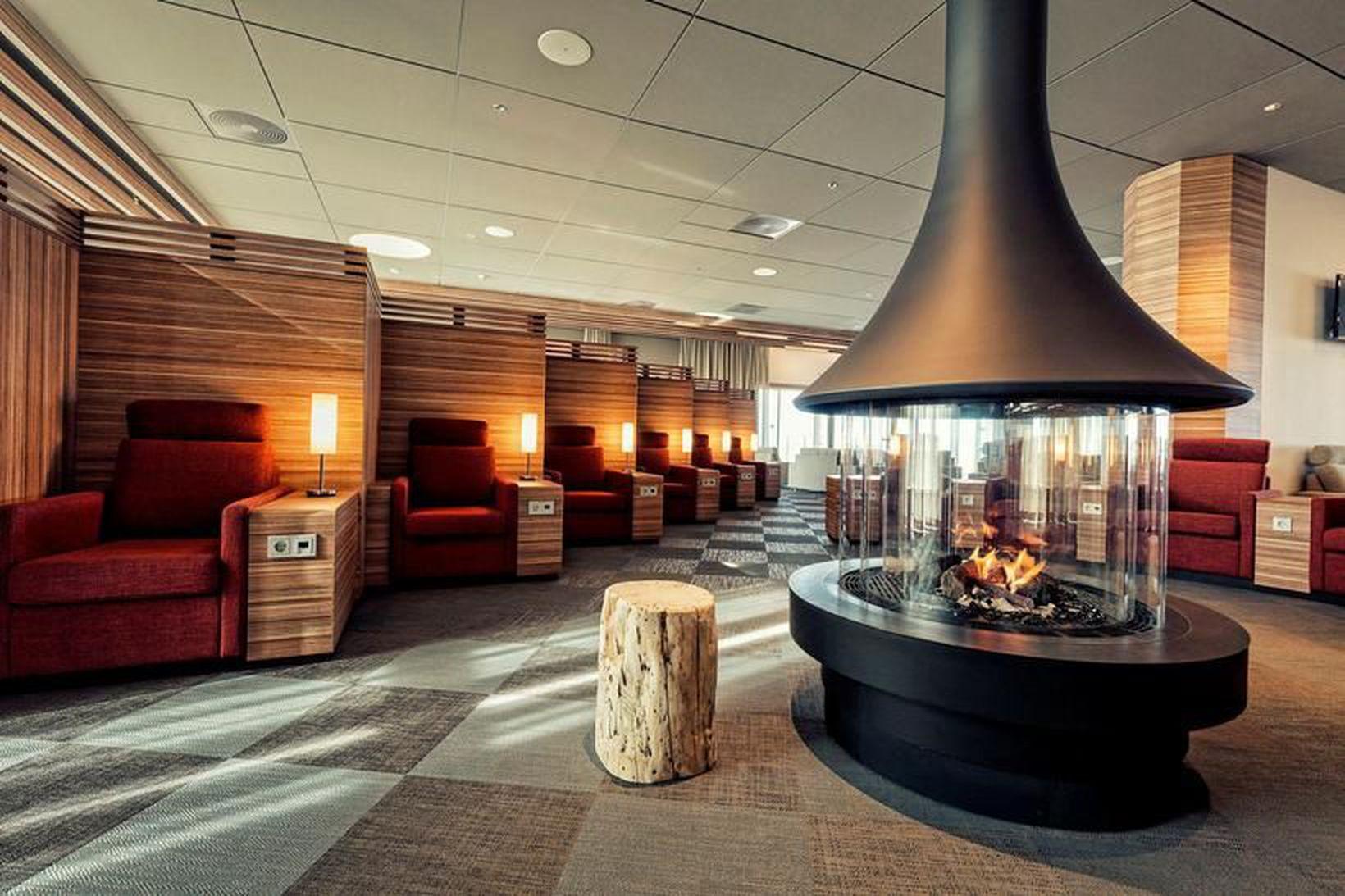 Saga Lounge í Leifsstöð.