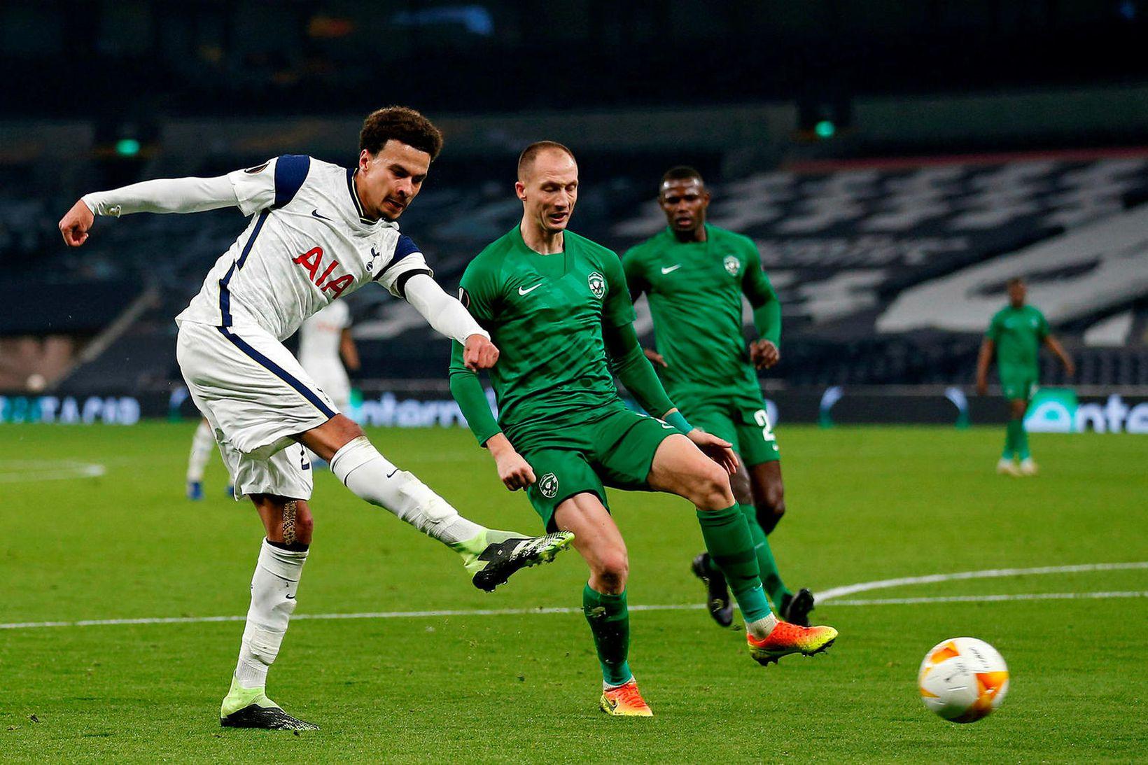 Dele Alli hefur ekki átt fast sæti í liði Tottenham …