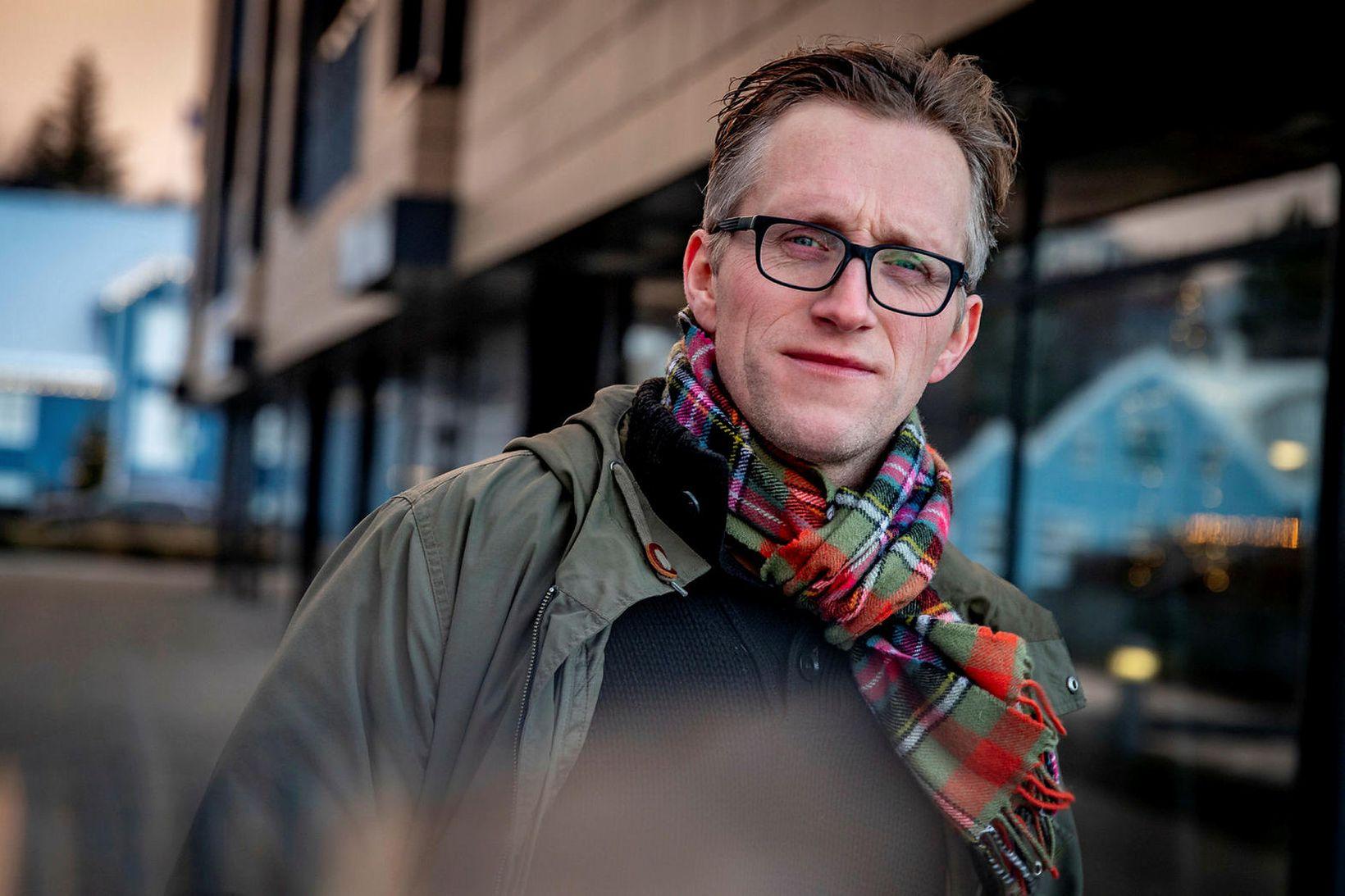Kristján Hrafn Guðmundsson rithöfundur.