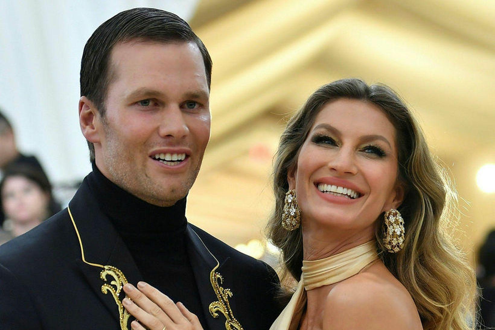 Tom Brady og Gisele Bündchen.