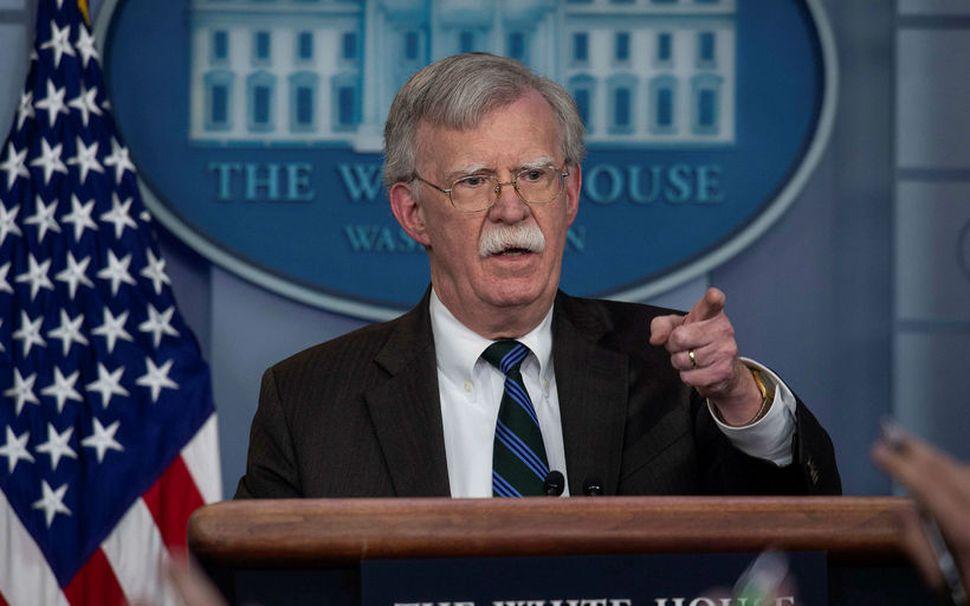 John Bolton, fyrrum þjóðaröryggisráðgjafi Donalds Trumps.