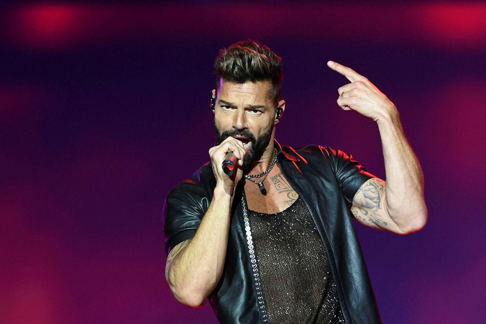 Ricky Martin á fjögur börn.