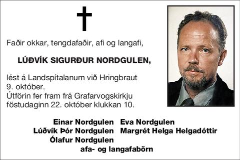 Lúðvík Sigurður Nordgulen,