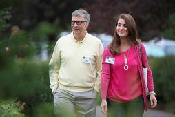 Bill og Melinda Gates eru að skilja.