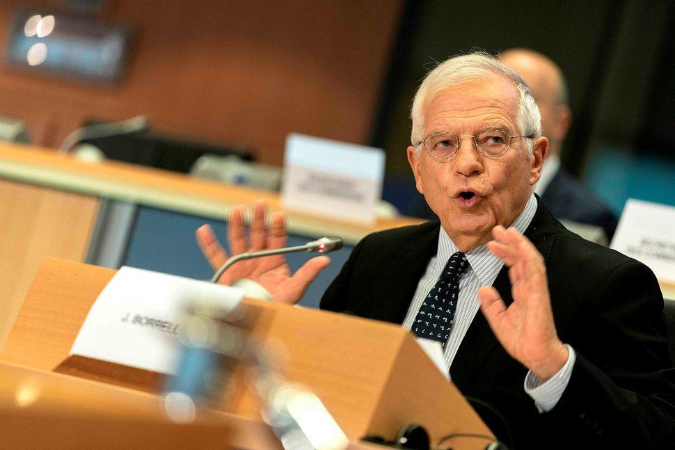 Josep Borrell sem tilnefndur hefur verið sem næsti utanríkismálastjóri ESB ...