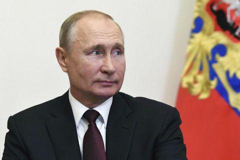 Vladimir Pútín, forseti Rússlands, hefur verið vinsælli.