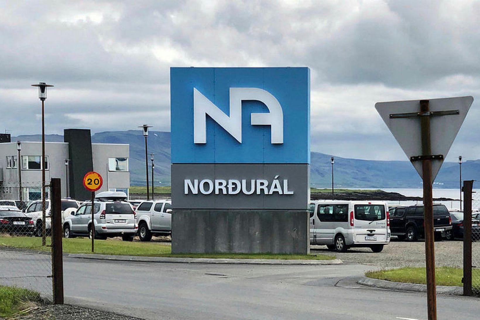 Norðurál á Grundartanga.