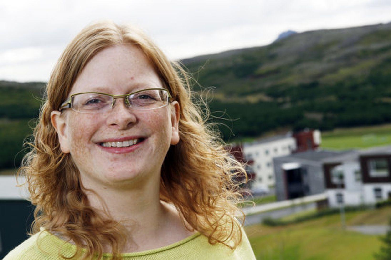 Sigríður Guðmarsdóttir.