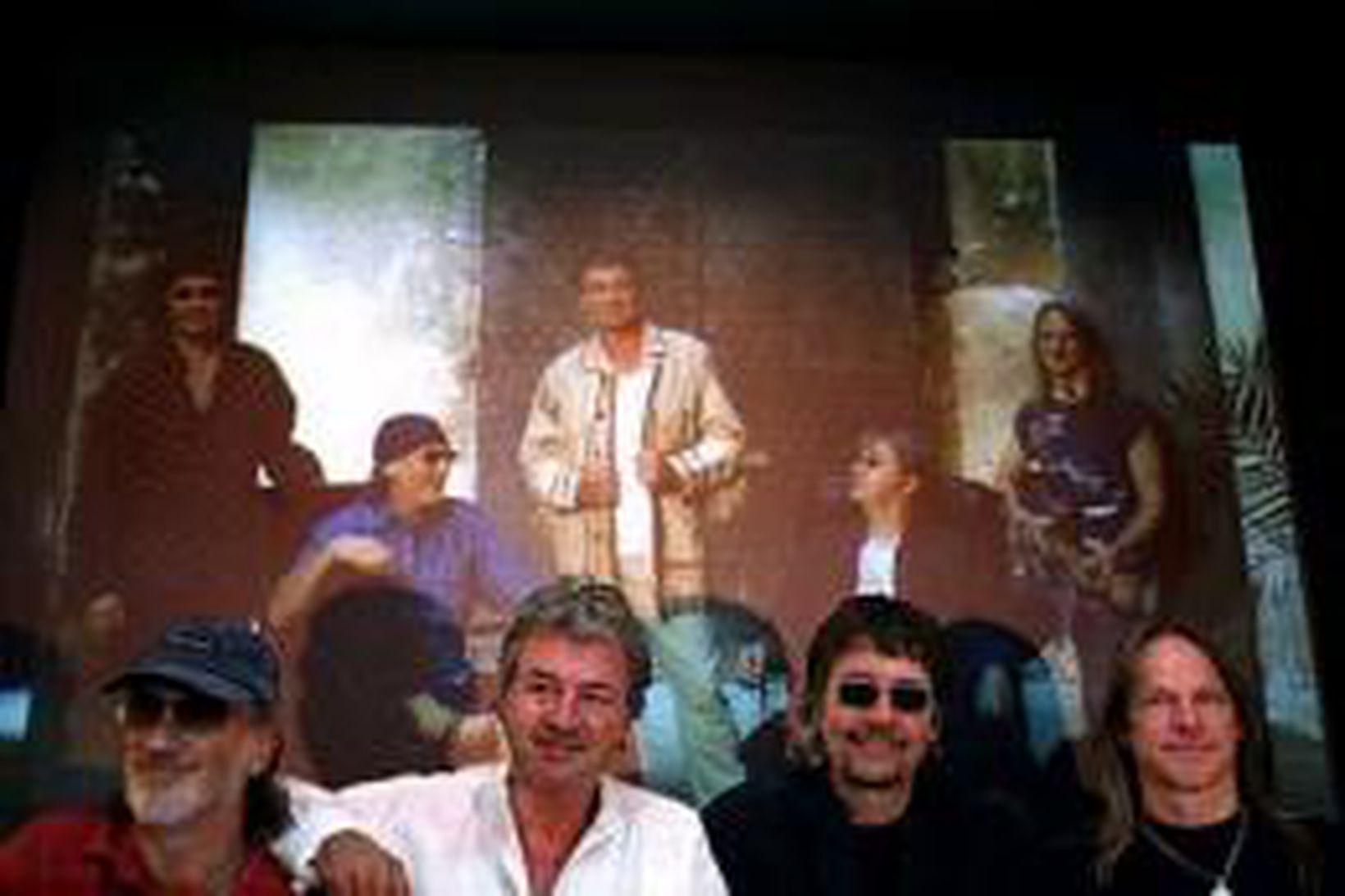 Þeir Roger Glover, Ian Gillan, Don Airey og Steve Morse …