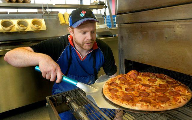Dominos er langvinsælasta og stærsta pizzakeðja landsins.