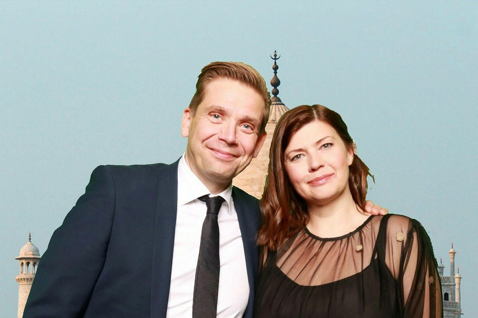 Guðmundur Pálsson og Margrét María Leifsdóttir.