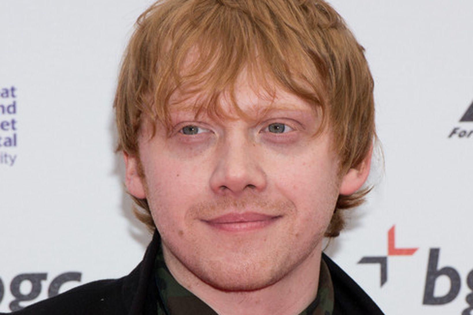 Rupert Grint varð faðir á síðasta ári.