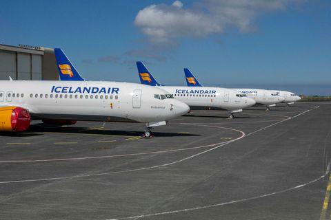 Rúmlega helmingur viðskiptavina Icelandair hafa fengið flugferðir sínar endurgreiddar, síðan kórónuveirufaraldurinn skall á.