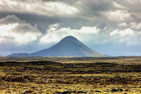 Keilir Academy is named after Mount Keilir, an extinct volcano on the Reykjanes peninsula, home to the academy.