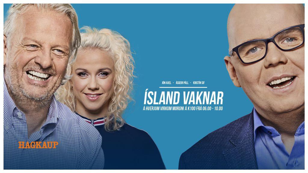 Ísland vaknar 06:00 - 10:00