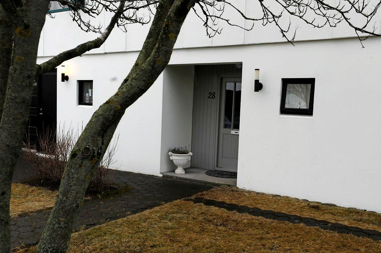 The house on Rauðagerði, where the crime was committed.