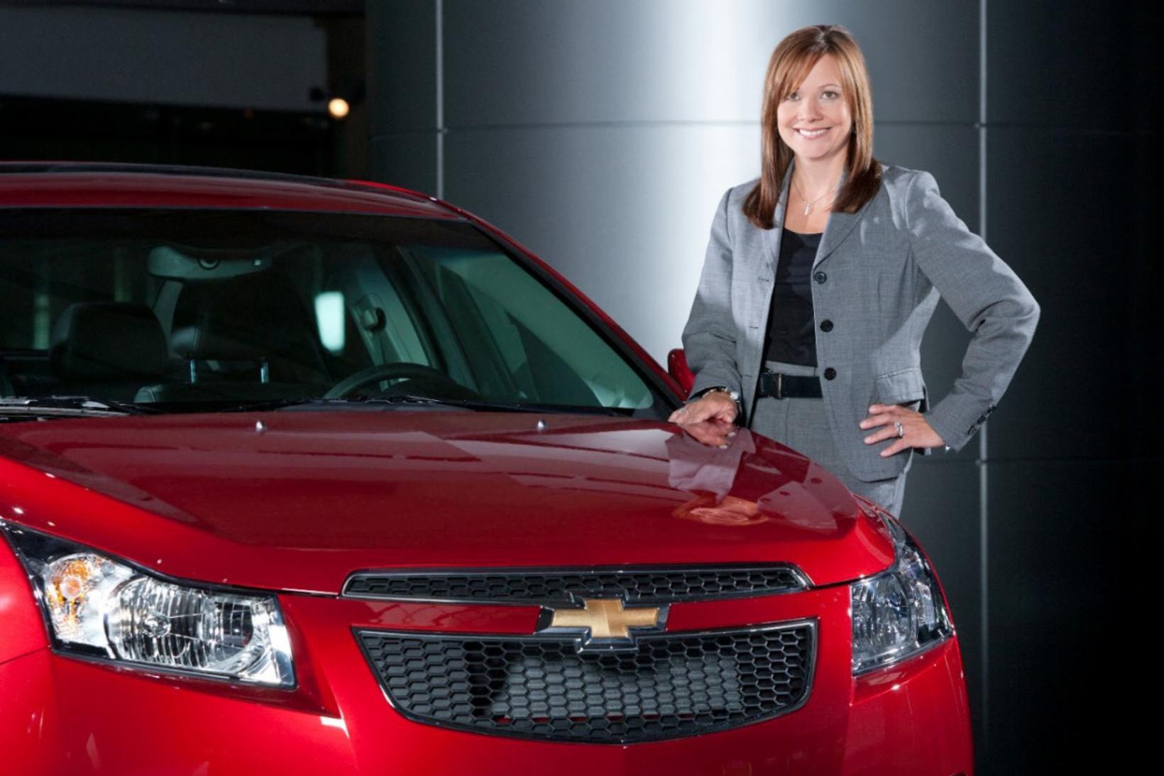 Mary Barra forstjóri General Motors.
