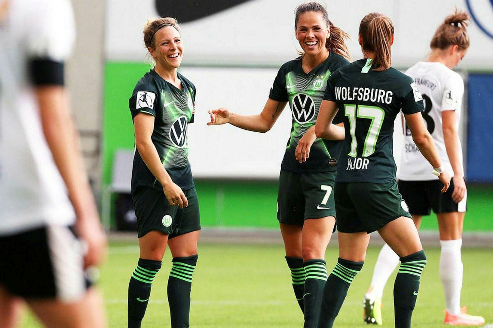 Sara Björk Gunnarsdóttir hefur leikið sinn síðasta leik með Wolfsburg.