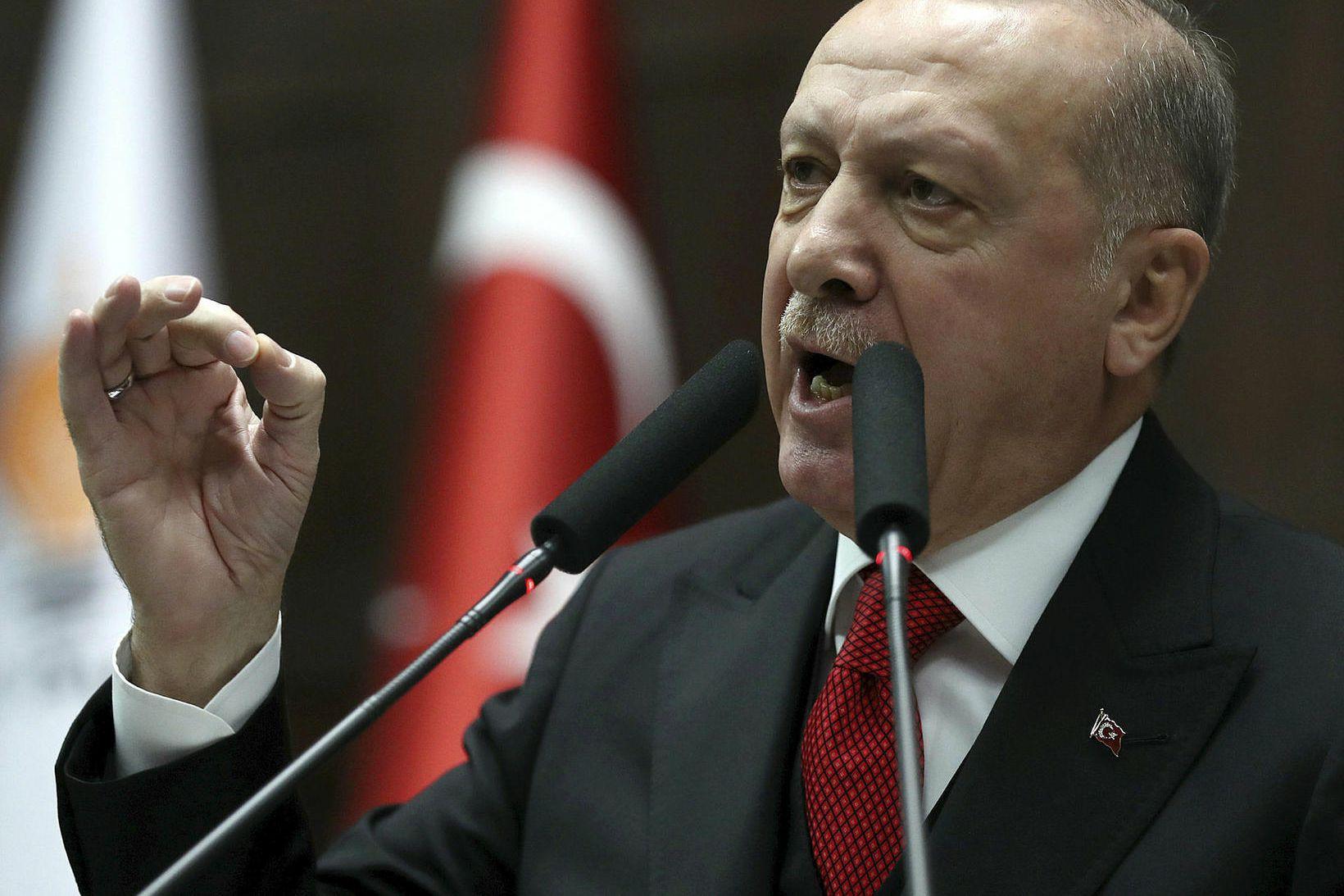 Recep Tayyip Erdogan forseti Tyrklands. Ríkisstjórn hans hefur allt frá …