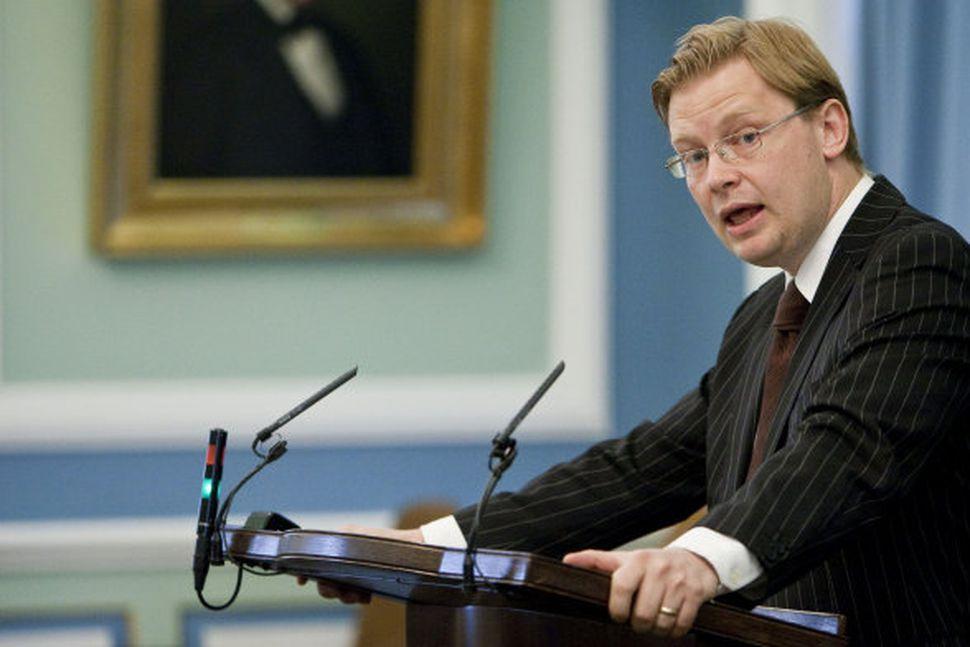 Sigurður Kári Kristjánsson, þingmaður Sjálfstæðisflokksins.