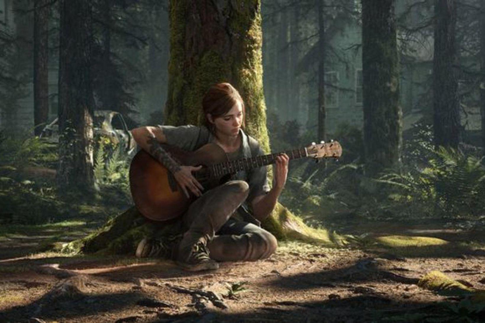 Skjáskot úr tölvuleiknum The Last of Us.