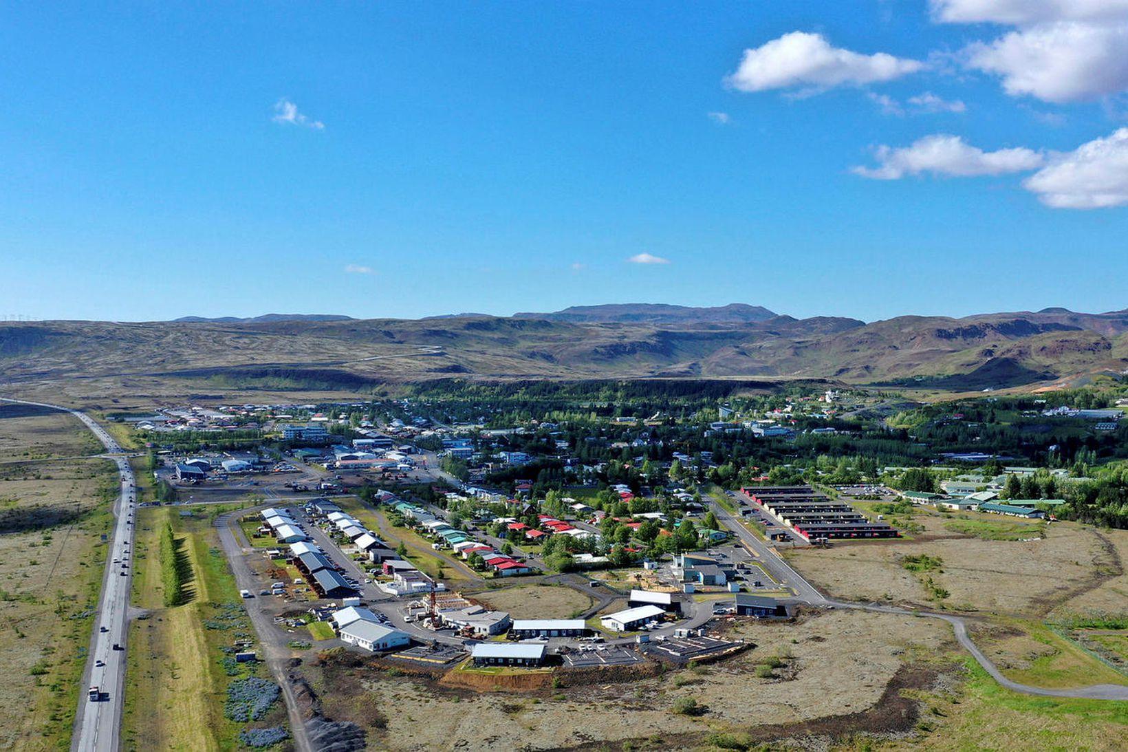 Sorg er í Hveragerði.