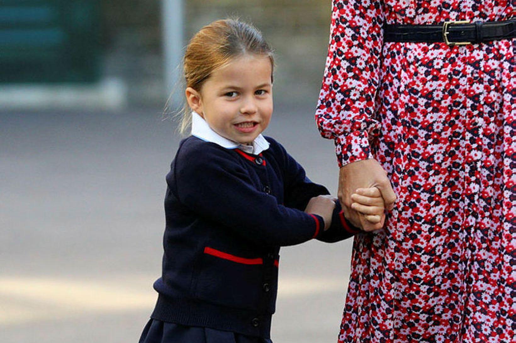 Prinsessan unga elskar einhyrninga, líkt og margar ungar stelpur.