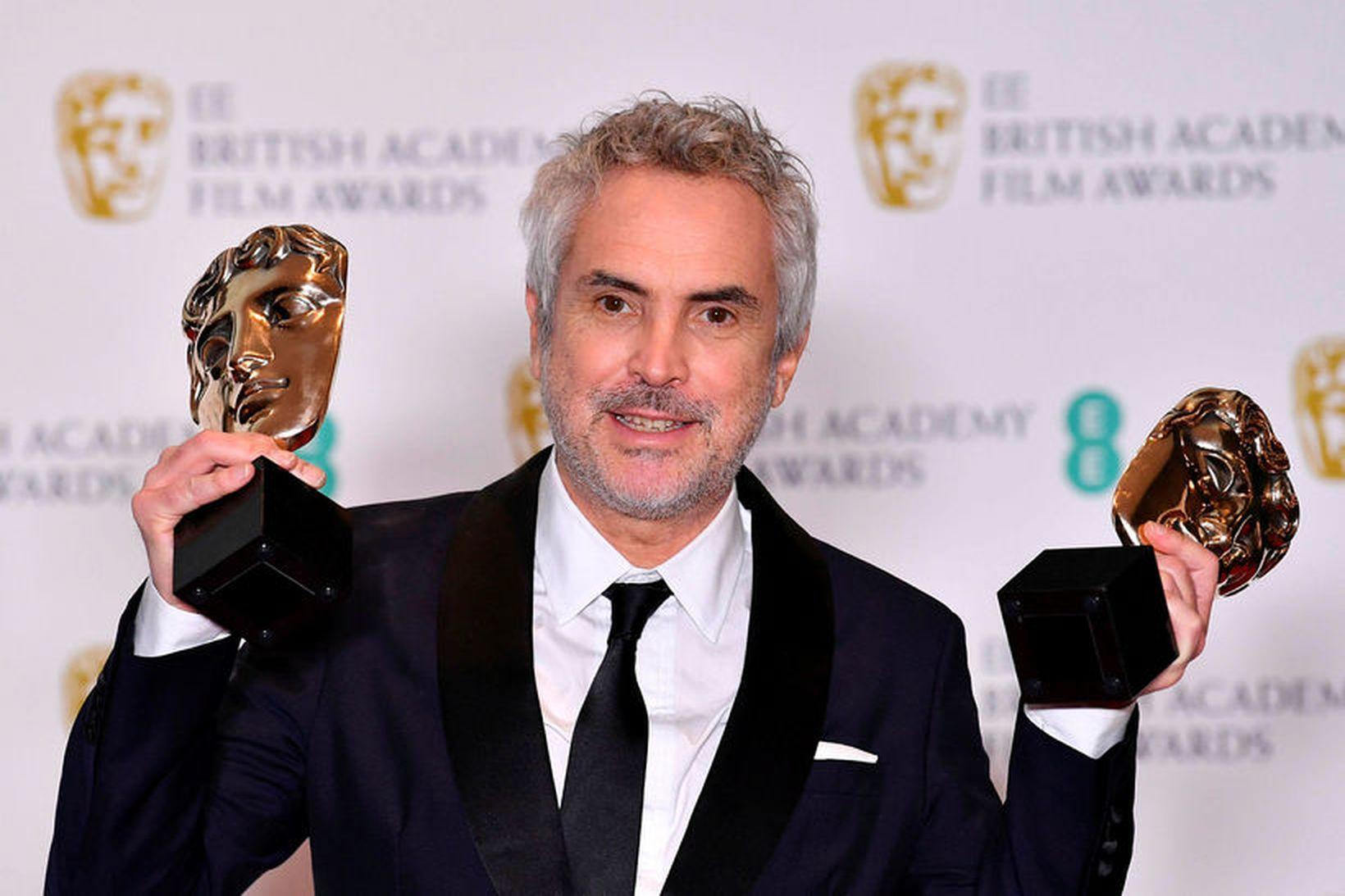 Mexíkóski leikstjórinn Alfonso Cuaron var valinn sá besti og kvikmynd …