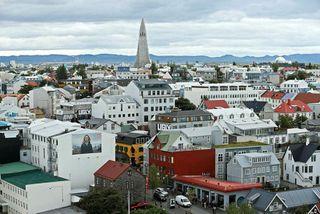 Miðborg Reykjavíkur. Tölur hagdeildar Íbúðalánasjóðs benda til þess að minnsta kosti 1.400 Airbnb-íbúðir séu rangt ...