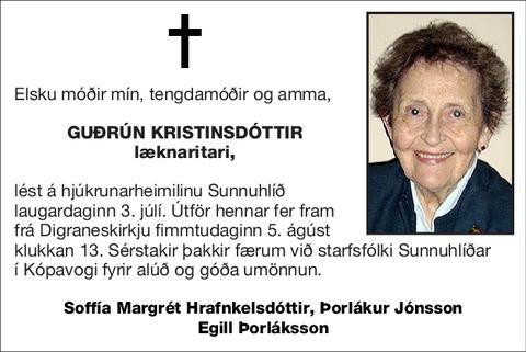 Guðrún Kristinsdóttir