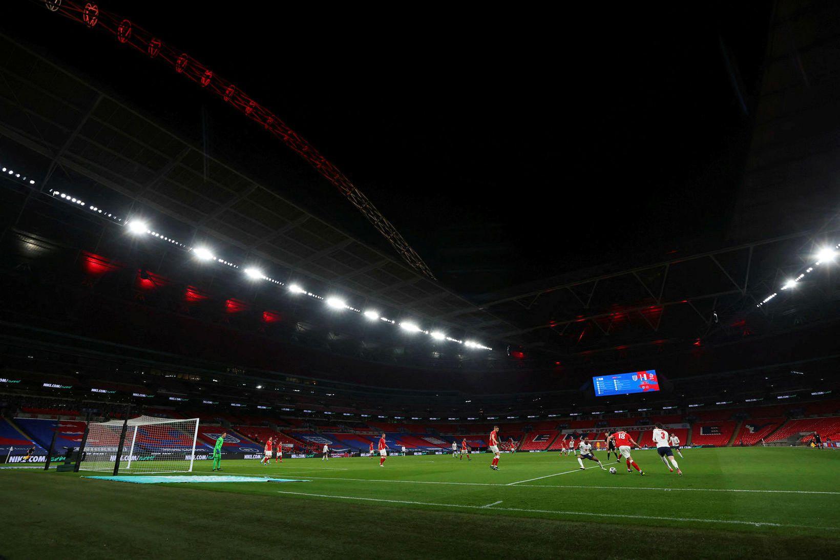 Wembley verður ekki tómur.