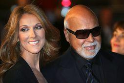 Céline Dion og René Angélil.