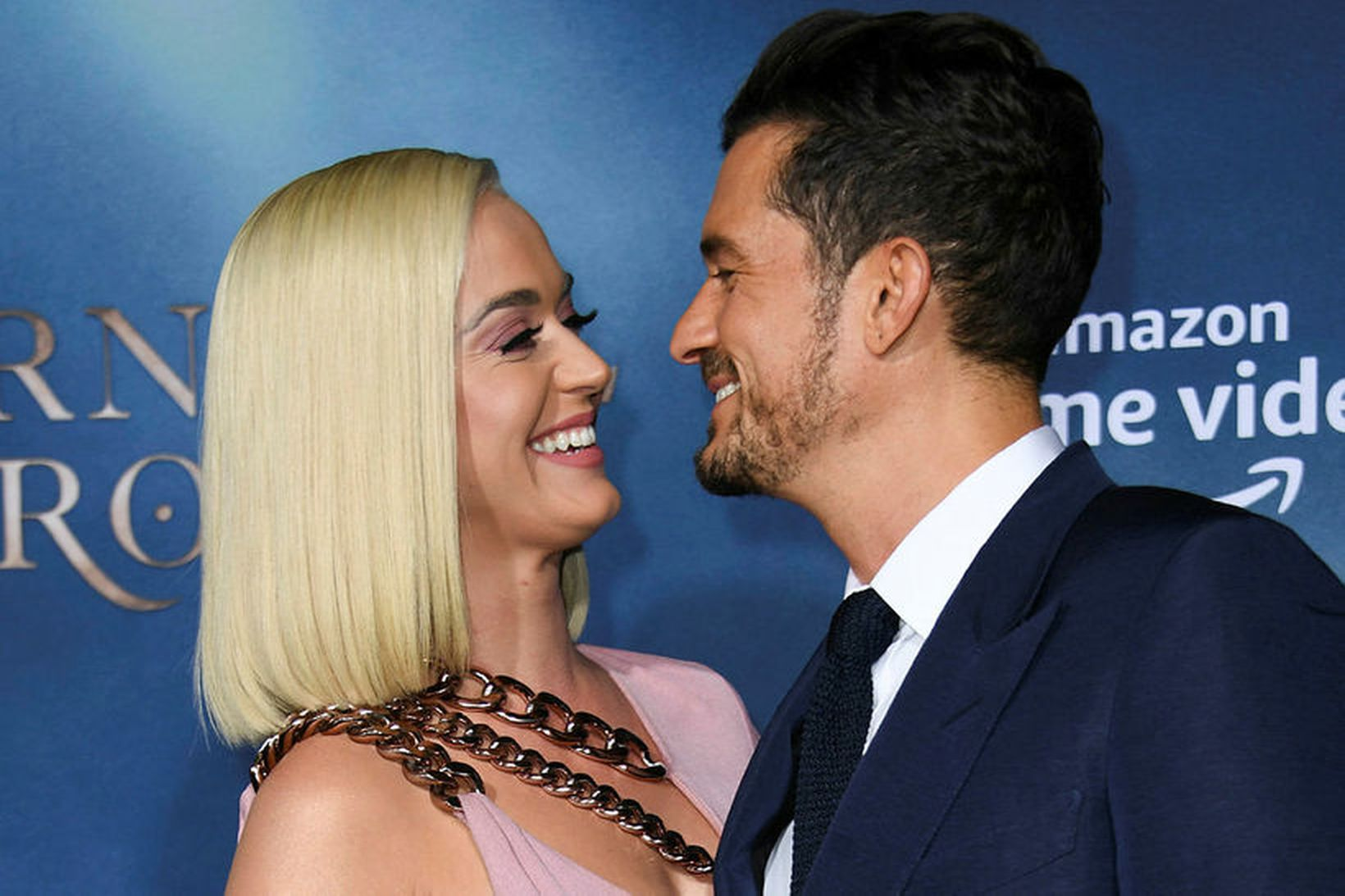 Orlando Bloom og Katy Perry.