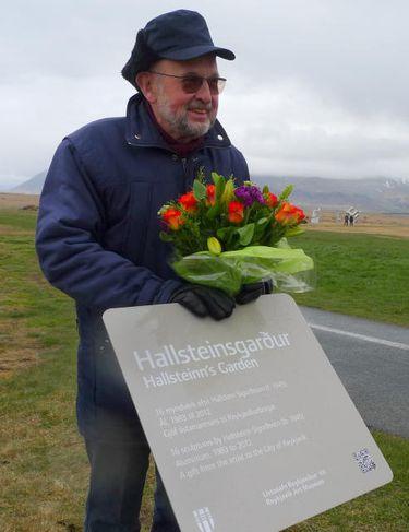 Hallsteinn Sigurðsson, myndlistarmaður.